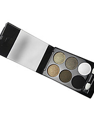 6 Colors Makeup Eye Shadow Palette (8685-03)