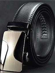 Мужская мода High Grade Автоматическая пряжка кожаный ремень