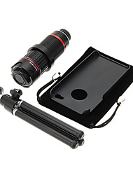 Увеличить 4-12X телефото Металл мобильного телефона объектива с треногой для IPhone 4S