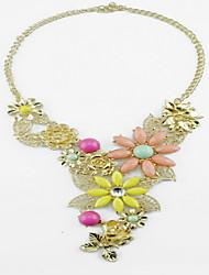 Kushang Multi-Color Fashion Short Necklace