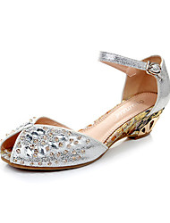 POEMLINE Women's Fashion Diamonade Sandals(Silver)