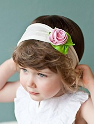 Children's Lovely Headwear Flower Elastic Cotton Hair Band Headband