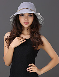 Xiaerbeiluo Large Brim Flower Colors Sun Hat (Gray)
