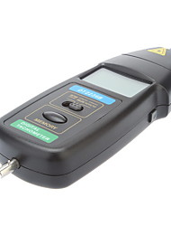Laser Professional Digital Photo / Contact 2 em 1 tacômetro RPM Tach indicador (0.5 ~ 99999 RPM, 0.01RPM)