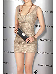 Yiya Women's Sexy Bodycon Lace Fitted Dress