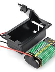 DIY 9V Battery  T-Type Buckle Case Set