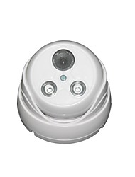 MHS ®New Arrival 700TVL Color IR Vandalproof Dome Camera with 2PC Array LED