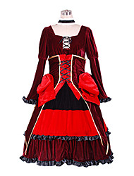 Vocaloid - Fate Rebirth Kagamine Rin Gothic Dress Cosplay Costume