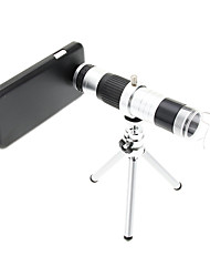16X Telephoto Metal and 220X Microscope Cellphone Lens with Tripod for Samsung S4