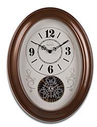 "16""H Retro Classical Gear Style Wall Clock"