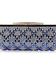 Women's Glass diamond dinner dress hand bag 7135-1