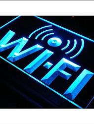 i572 Wi-Fi Internet Access Cafe Shop Neon Light Sign