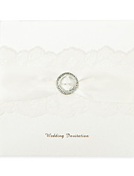 Non-personalized Top Fold Wedding Invitations Invitation Cards