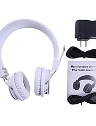 Estéreo HiFi Bluetooth Wireless Headset 3 en 1 Auriculares Tarjeta TF para el teléfono móvil PC