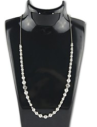 señorita collar de perlas circón rose®simple