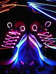 Light Up LED luminoso Shoeslace 1 par Pack (mais cores)
