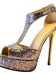 bc sandali tacco a spillo colorate spumanti scintillio delle donne
