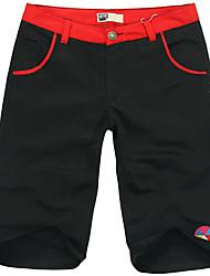 Moda de Nova Lazer Joker soltos Calças de algodão puro de YIFEEL C Homens (preto) K199-1
