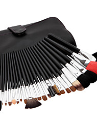 23pcs Makeup Brushes setBristle/Goat/Mink Hair Professional Powder/Foundation/Concealer/Blush brush Shadow Brush Makeup Kit