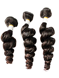 Peru Virgin os pêlos soltos de cabelo humano onda cor natural 16inches