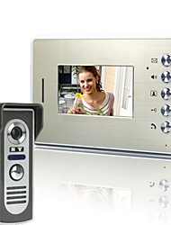 4.3 Inch Video Door Phone Doorbell Intercom Kit 1-camera 1-monitor Night Vision