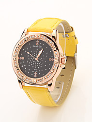Cdong Starry Dial Watch (giallo)