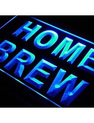 produção caseira sinal bar de cerveja pub vinho luz neon