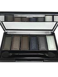 6 colores de maquillaje paleta de sombra (CY3207-03)