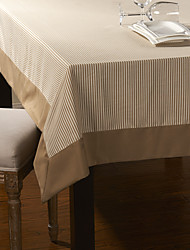 As per picture Polyester Square / Rectangular Table Cloths