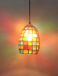 Pingente, uma Luz, Modern Painting Vidro