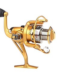6BB roulements à billes gauche / droite interchangeable pliable Poignée moulinet spinning AF3000 5,5:1 (0.2mm/270m)