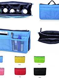 Women's Travel Insert Portable Cosmetische Handtas Organizer Purse Groot Liner Tidy make-up tas