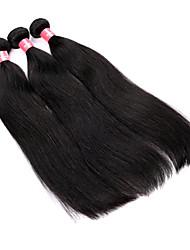 14 16 18 20-Zoll-Groß 5A brasilianische Jungfrau-Menschenhaar Natur Schwarz Farbe Straight Hair Extensions