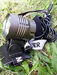 Beleuchtung Stirnlampen / Radlichter LED 6000/4000 Lumen 3 Modus Cree XM-L T6 / Cree XM-T6 L2 18650 Wasserdicht / WiederaufladbarRadsport