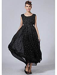 Women's Dresses , Chiffon Roumay