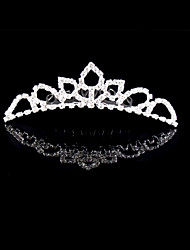 Wedding Silver Plated Tiaras Hair Jewelry