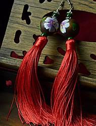 Boucles d'oreille goutte Bijoux Femme 2pcs Argent