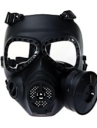 Airsoft Paintball Full Face Protection MA-27 Dummy Gas Mask Turbo Fan System Outdoor War Games Protetive