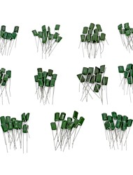 DIY  100V 1000~8200PF Polyester Film Capacitor Assortment Kit (11 x 10 PCS)