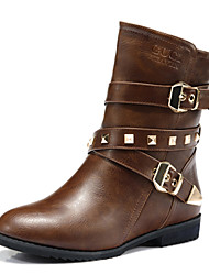 Women's Flat Heel Comfort Ankle Motorcycle Boots(More Colors)