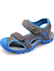 Heel piatto Suede Boys 'Comfort Sandali Shoes (più colori)