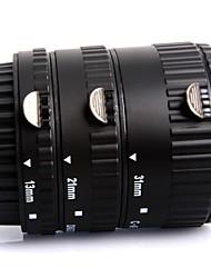 Enfoque automático Macro anillo adaptador de interfaz de plástico utilizado para el anillo para Canon Electrón Primer plano