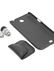 Samsung N7100 Cassa del telefono cellulare e 60 volte lente di ingrandimento in Set