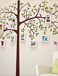 Photo Frame Collection Set of 10 with Wall Sticker