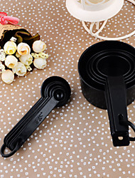 10PCS/set Kitchen Ware Measuring Spoons Cup Set for Baking Coffee Food Cooking Scoop