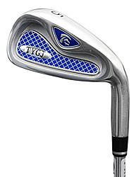TTYGJ Golf Club Herren 38 Zoll 5 # S / R-Zink-Legierung Kopf-Stahlwelle Nahen Irons Mashie
