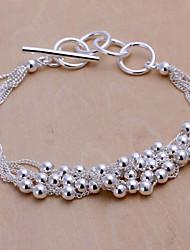 Minze 925 Silber Vintage Traubenformarmband