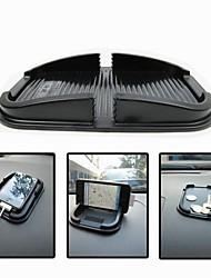 Multi-fonction de voiture antidérapante de garniture de soutien GPS Stockage