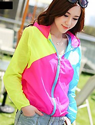 Women's Hooded Splice Sun Protection Clothing