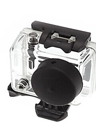 Lens Silicone Protective Cover Blue Black and White and Is Suitable for The Gopro Hero 2 Generations